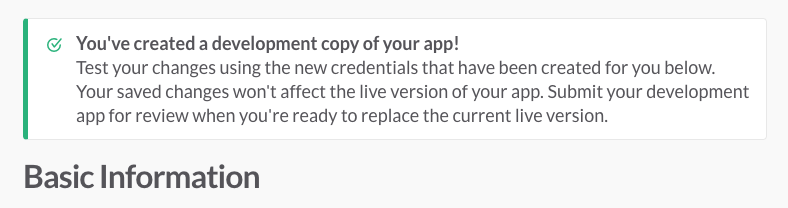 Your app, replicated