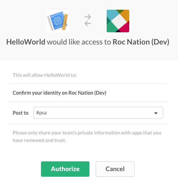 Install the app to your development team